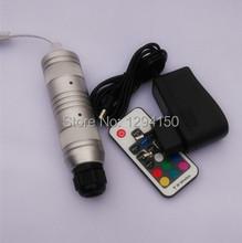 Смарт 3 Вт с ик из светодиодов волоконно-оптический свет машинист с RGB цветов волоконно-оптический звезда верхнего света двигателя