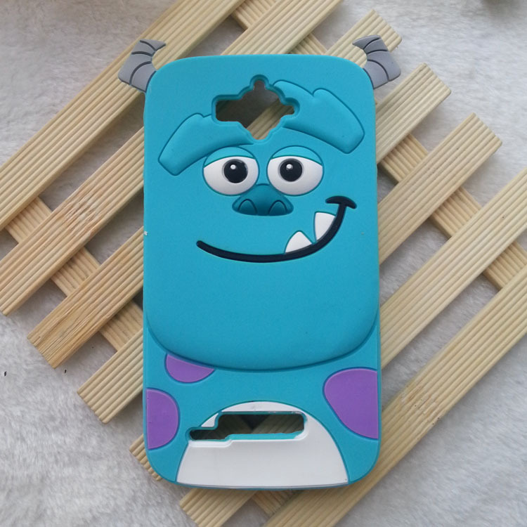 1PCS Alcatel One Touch Pop C7 Soft Silicone Case 3D Cartoon Animals Monsters Sulley G610 Soft Silicon Covers Cell phone cases(China (Mainland))