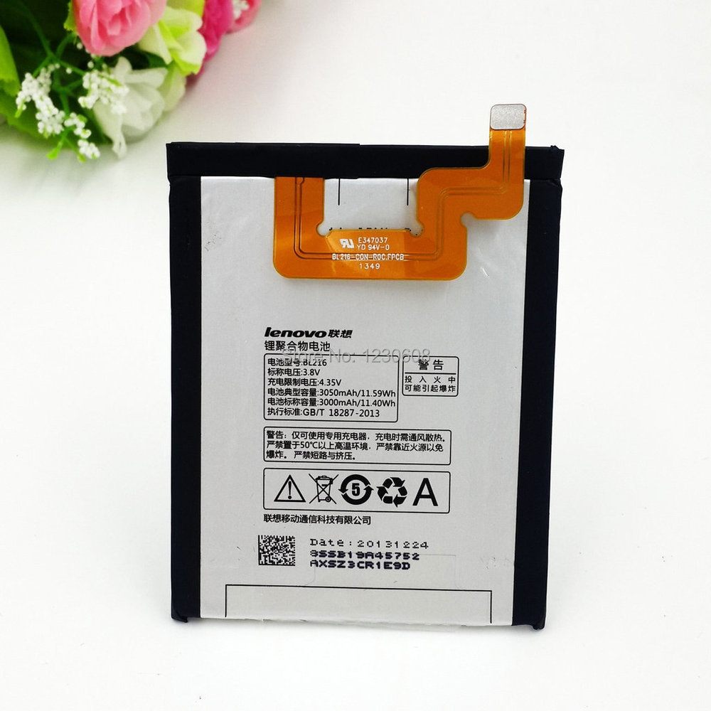 100 original for lenovo BL216 BL 216 BL 216 K910 K910e battery free shipping
