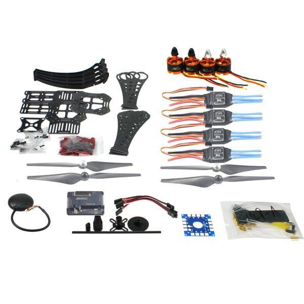 DIY RC Drone Quadrocopter X4M360L Rahmen Kit mit GPS APM 2,8 Motor ESC F14892-A