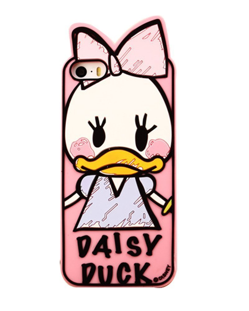 Lovely Cute Cartoon Characters Donald Duck Series Designed Silicon Case Cover for Apple Iphone 6 Plus 5.5 Inch Free shopping(China (Mainland))