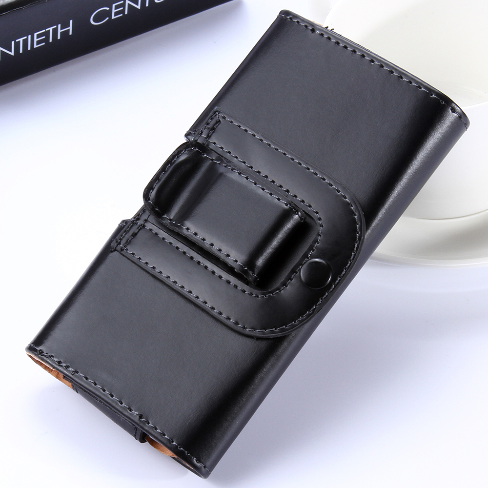 """Belt Clip Holster Case for iPhone 4 4S 5 5S 5C 6 6S Plus Samsung S3 S4 S5 S6 Note 2 3 4 Sony Z1 Z2 Z3 Z4 5.5"""" Man Leather Cover(China (Mainland))"""