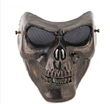Skull Mask Retro Protection Paintball Airsoft Gun Masks Halloween Horror Masks