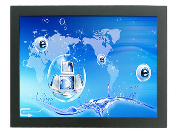 Android Solution advertising display 10.1 inch LCD touch screen monitor 4-wire resistive open frame lcd touch monitor