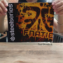 New Gaming game tournament SteelSeries QCK + FNATIC Speed Control Gaming Surface Mouse Pad Computer Mat Unlocked L Size 250*300