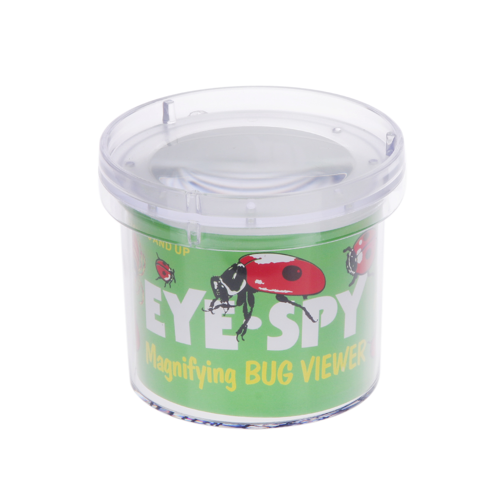 Insect Viewer Locket Box Jar Magnifier Bug Magnifying Loupe Toy Observe Flowers Leaves Coins for Experiment Exploring Nature