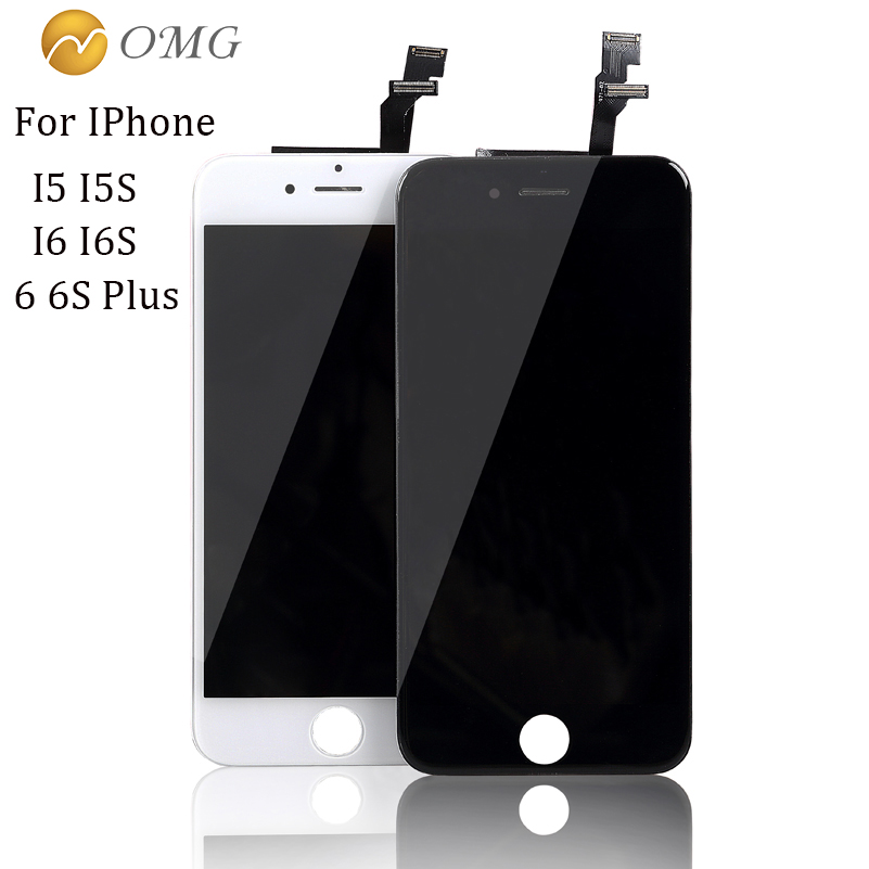 "AAA Replacement LCD Screen For iPhone 5 5S 4"" 6 6S 4.7 inch 6Plus 6S Plus 5.5 inch Display Digitizer Touch Screen Assembly Tools(China (Mainland))"