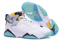 New 2016 new air jordan 7 retro shoes women euro size 36 to 40 US 5.5 to 6.5 7 8 8.5 with original box 12(China (Mainland))
