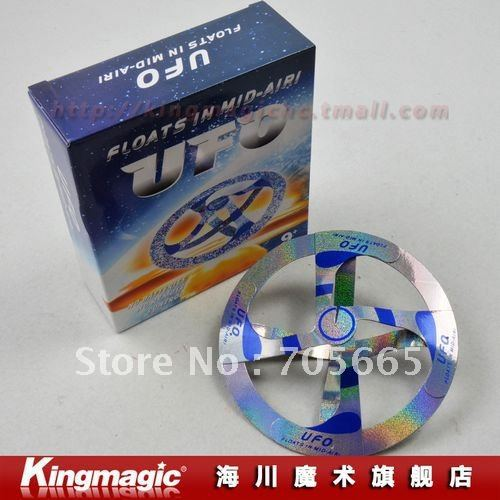 Promotion wholesale!magic suspended UFO/air floating magic UFO/box packing/ Free shipping by CPAM!<br><br>Aliexpress