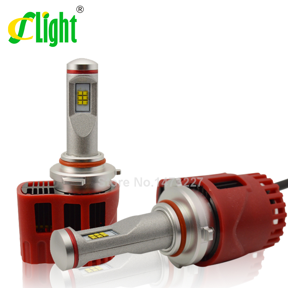 Фотография 1Set 90W ZES Chip HB4 Car Led Headlights 9006 Head Fog DRL Light Bulbs Headlamp 9000LM LED Car Headlight Kit