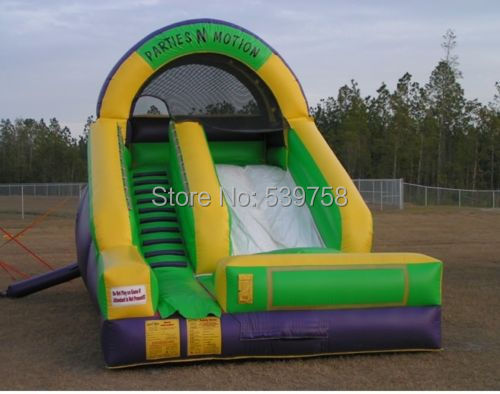 Factory direct inflatable castle slide, inflatable bouncer, inflatable fun city, inflatable slides CN-041(China (Mainland))