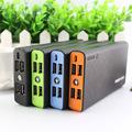 DCAE Power Bank 5600mAh 2 USB Mobile Backup Powerbank 5600mAh Quick Charge 2.4 Bateria Externa Universal Charger for phone