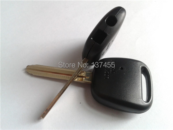 car toyota remote key shell with two holes on the side no logo(China (Mainland))