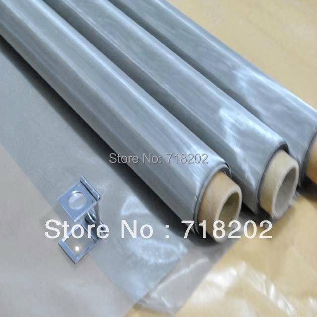 Hot Sale!!! 1mx30m Free Shipping #325 mesh/50 micron SS 316L stainless steel mesh (Direct Factory)(China (Mainland))