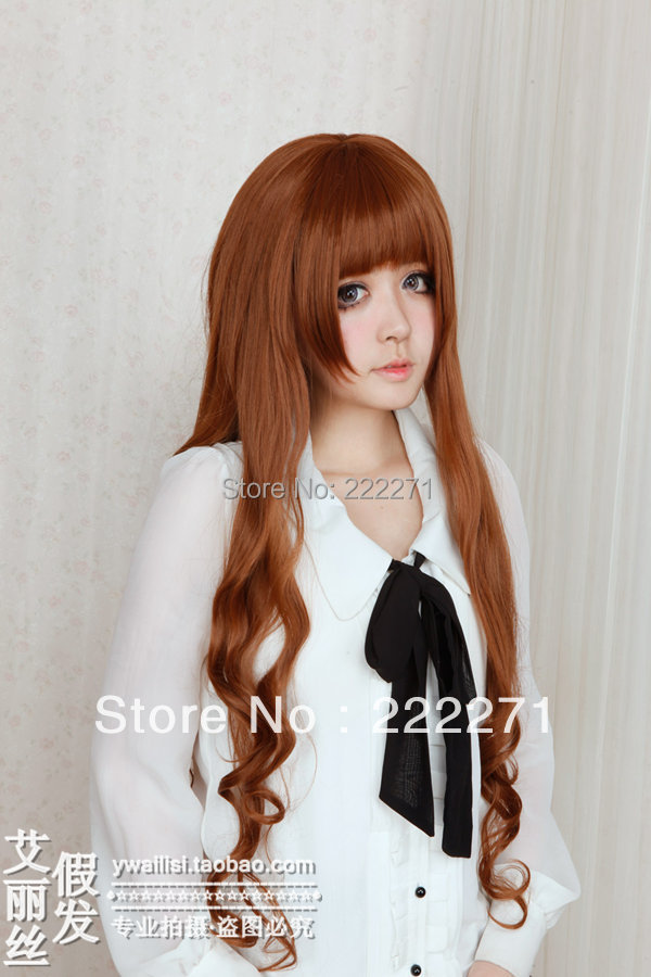 FREE SHIPPING Anime Tiger Dragon Rozen Maiden Axis powers hetalia Long Wavy Full Lace Cosplay Wig Costume Heat Resistant + Cap<br><br>Aliexpress