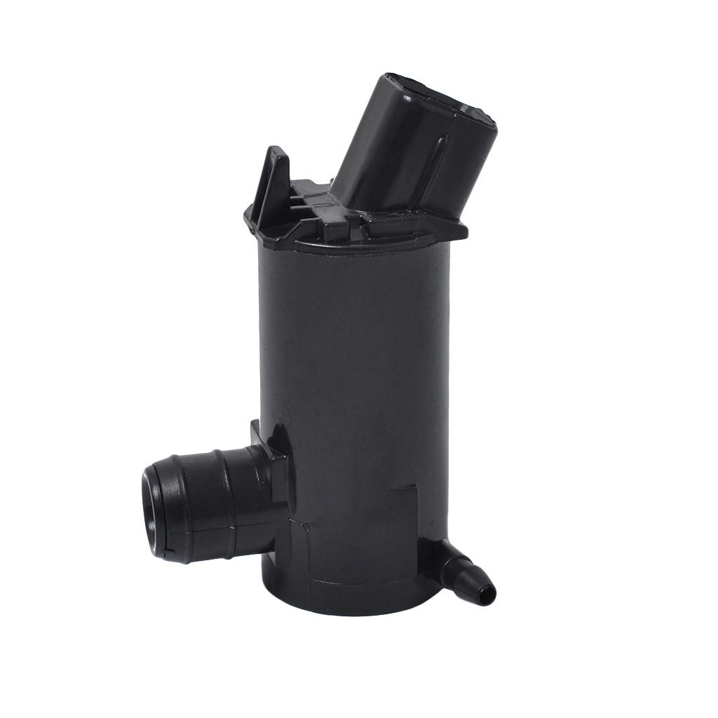 SI-A0050 12V Lavaparabrisas universal Bomba de l/íquido de agua para cami/ón Van Bus Truck Bomba de lavado de parabrisas de doble salida