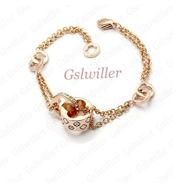 Free Shipping  Fashion , Crystal Bracelet,Wholesale Jewelry ,Girlfriend Birthday Gift