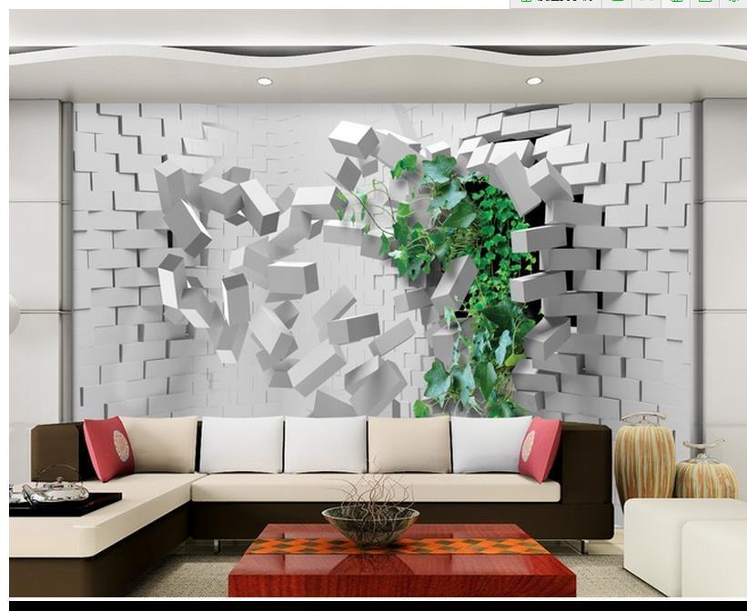 papier mural 3d. Black Bedroom Furniture Sets. Home Design Ideas