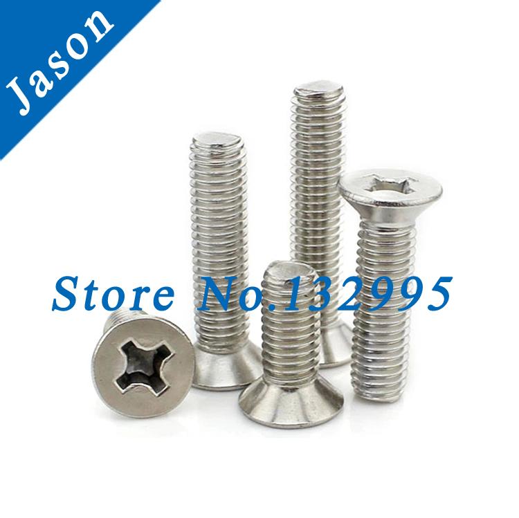 6#-32*1/2  Stainless steel A2 Machine Phillips Flat Head Screw  SUS 304 Flat Head Screw 6#*L<br><br>Aliexpress