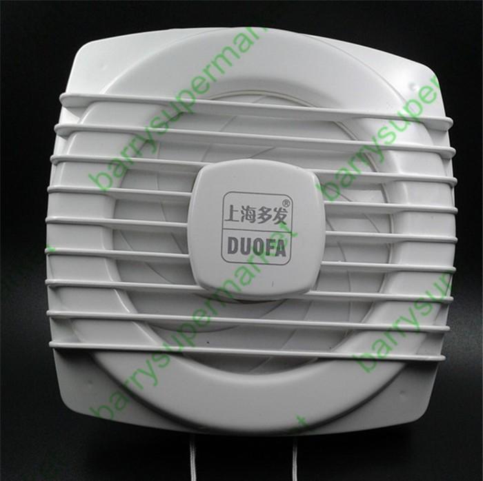 Здесь можно купить  Drawstring Ventilator Kitchen fumes Exhaust fan WC Bathroom Exhaust fan Household wall window100%copper wire(Diameter 11cm/4inch  Бытовая техника