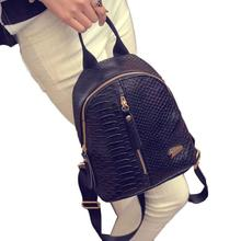 2016 Hot Backpack Women Quilted Fashion PU Leather Backpack For Girls/Ladies Shoulder Bags Travel Bag School Bag Dec14(China (Mainland))