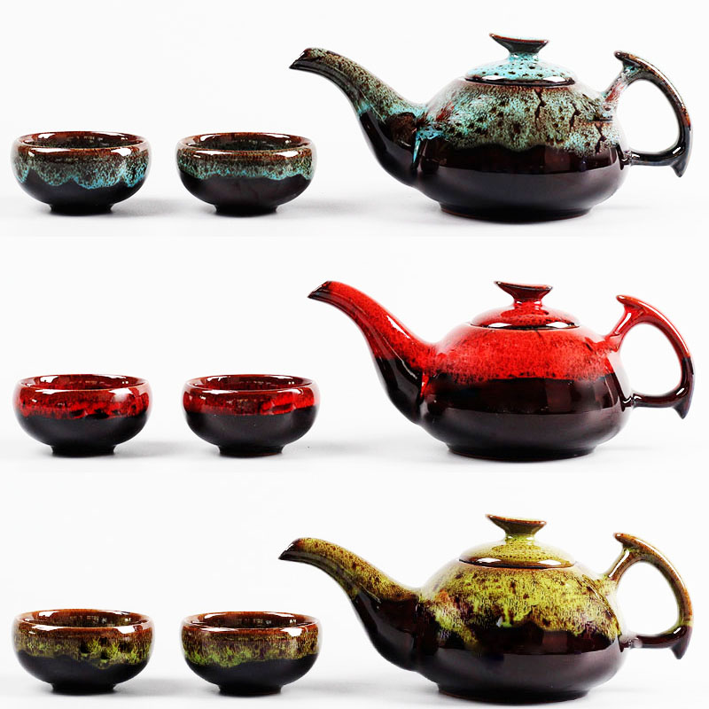tea cup tea set teapot ceramic tea cup set The perfect birthday gift tea pack containing a teapot and two cups Free Shipping(China (Mainland))