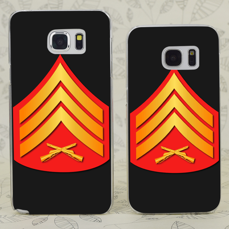 C2218 Usmc Sgt Dress No Txt Transparent Hard PC Case Cover For Samsung Galaxy S 3 4 5 6 7 Mini Edge Plus Note 3 4 5 7(China (Mainland))