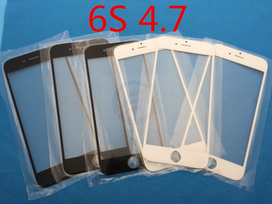 """100pcs/lot NEW Replacement LCD Front Touch Screen Glass Outer Lens For for iPhone 6S 4.7"""" DHL(China (Mainland))"""