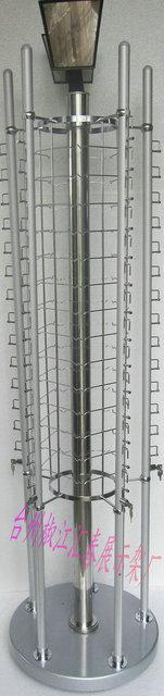 Glasses display rack quality aluminum alloy lock glasses display rack rotating 70