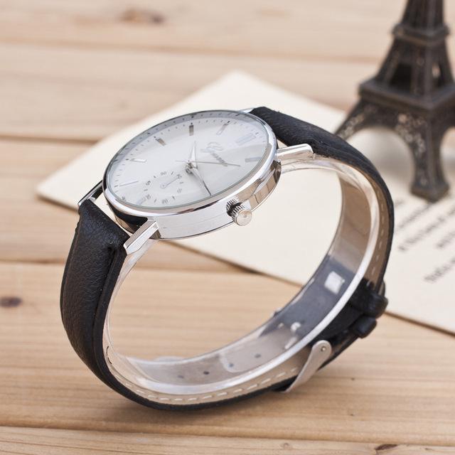 Zegarek damski GENEVA skórzany pasek klasyczny różne kolory