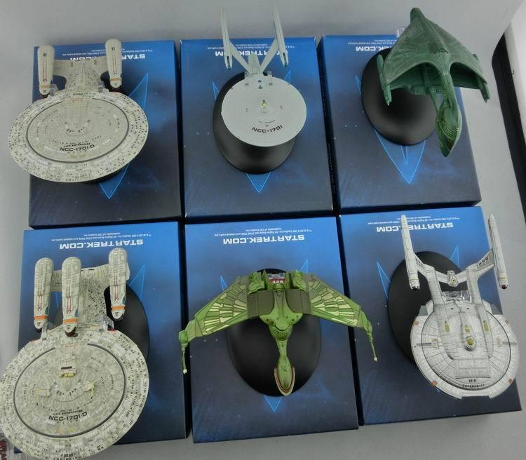 Star Trek U.S.S. Enterprise NCC 1701-D Mini Spaceship Model Starships USS Enterprise-D Startrek Ship Figures Free Shipping(China (Mainland))