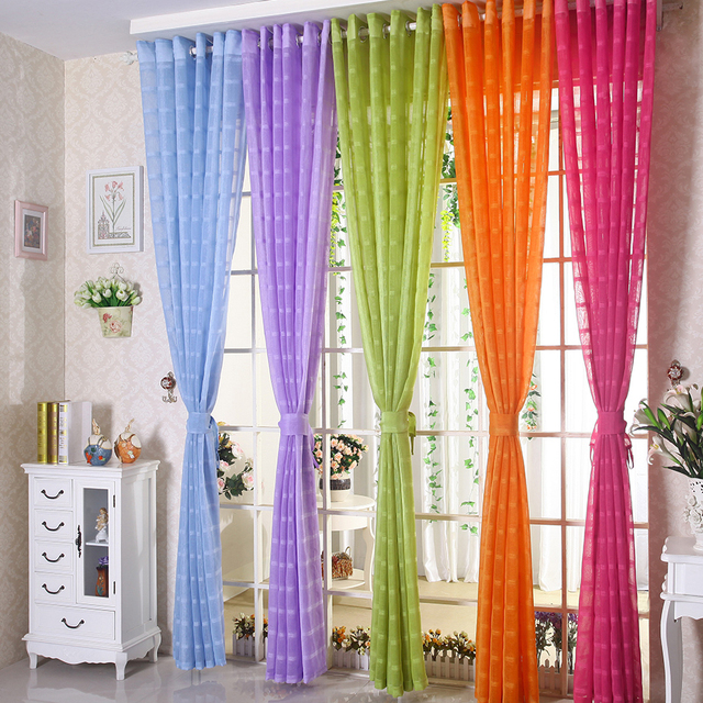 Modern room bedroom curtain window screening decoration partition shalian