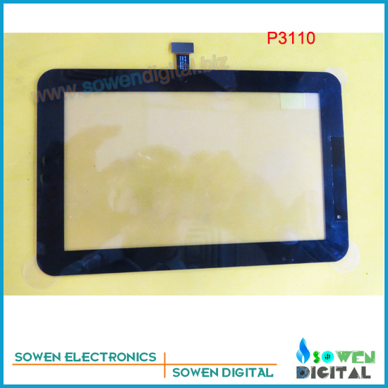 for Samsung GALAXY Tab P3110 touch screen digitizer touch panel,Black or White,Original new,Free shipping