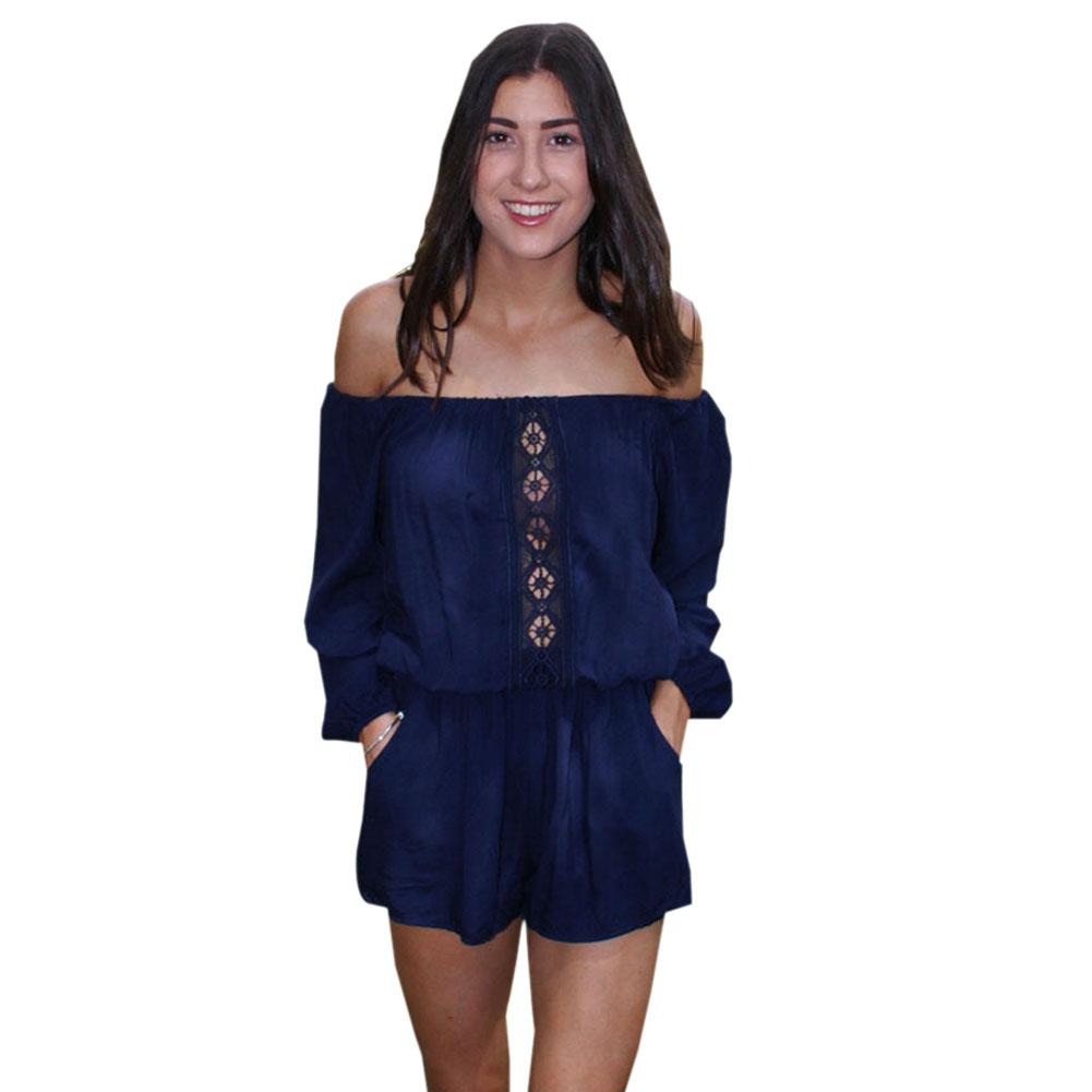 Unique Womens Black Dressy Jumpsuits - Breeze Clothing
