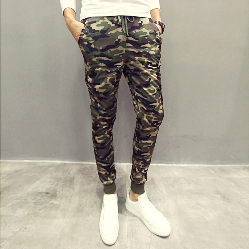 2015 New Camouflage Mens Joggers Military Jogging Pants Men Outdoors Army Sweatpants For Men Jogger Pants Pantalones Hombre(China (Mainland))