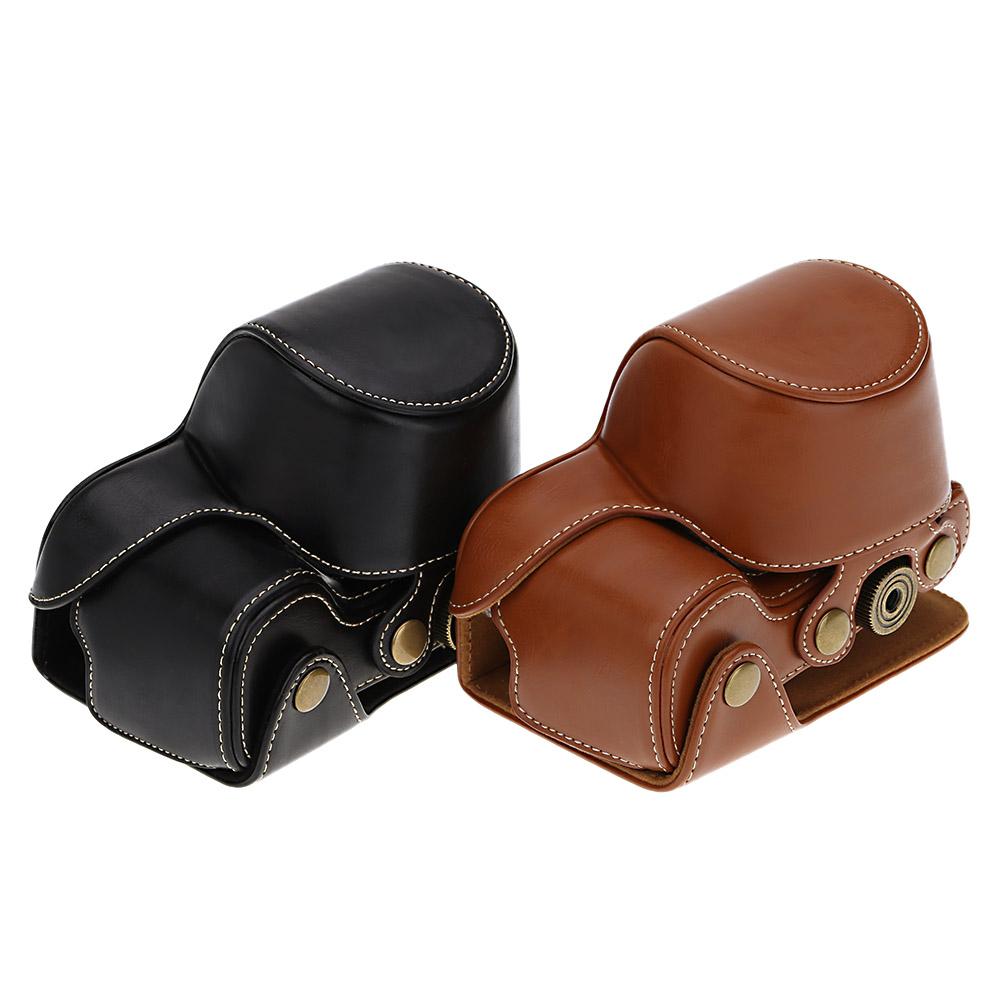Camera bag case lightweight PU leather Camera Bag Case Cover Pouch for Sony A6000 NEX-6 Camera(China (Mainland))