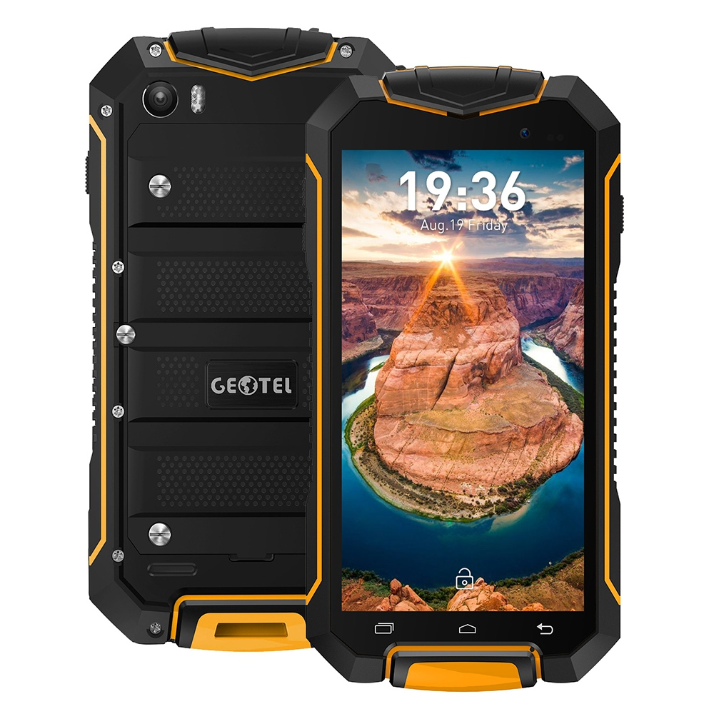 Original GEOTEL A1 3G Android 7.0 Smartphone 4.5 Inch MTK6580 1.3GHz Quad Core 1G+8G IP67 Waterproof Dustproof Mobile Phone(China (Mainland))
