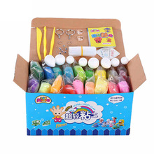 36 / 24 Colors Playdough Set Play Dough Super Light Soft Colored Modeling Foam Clay Air Dry Play-doh Plasticine Jumping Clay DIY