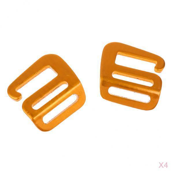 8pcs 1 /'/' G Haken Outdoor Gurtband Schnalle für Rucksack Gurt Gürtelclip