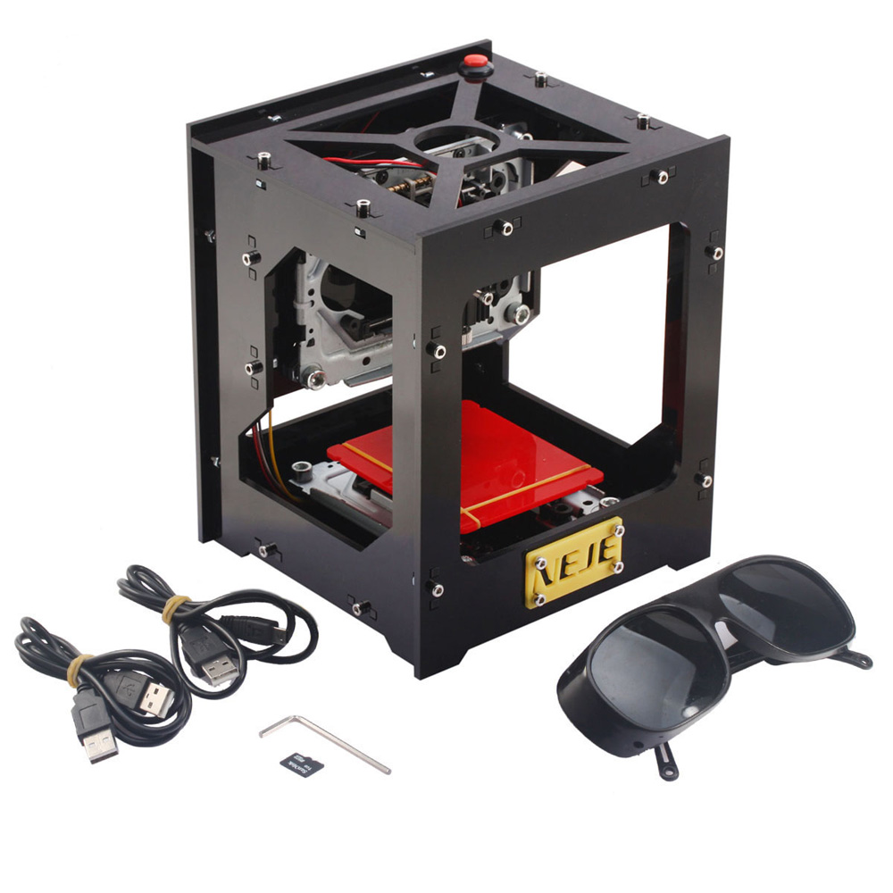 cnc engraving machine NEJE 1000mW Automatic DIY Print laser engraver mini USB Engraving Machine Off-line Operation(China (Mainland))