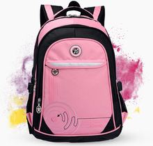 New 2015 Kids Backpack High Quality Waterproof Bags Children School Bag For Girls Unisex Backpacks Mochilas Free Shipping(China (Mainland))