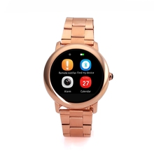 L2 K18 DM360 Bluetooth Smart Watch Wristwatch font b Health b font Metal Inteligente Reloj with