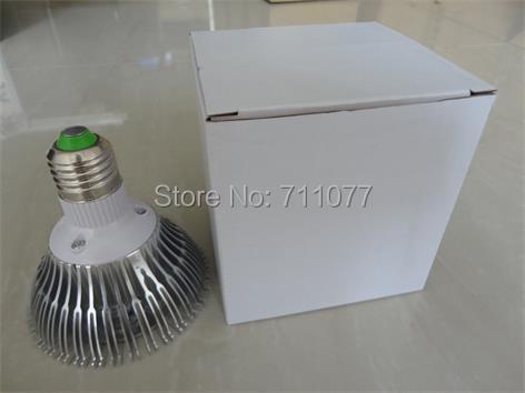 Wholesale--par30 led lighting 7x3w 21w Dimmable par30 led spotlights E27 par30 led bulbs 85-265V cold white free shipping(China (Mainland))