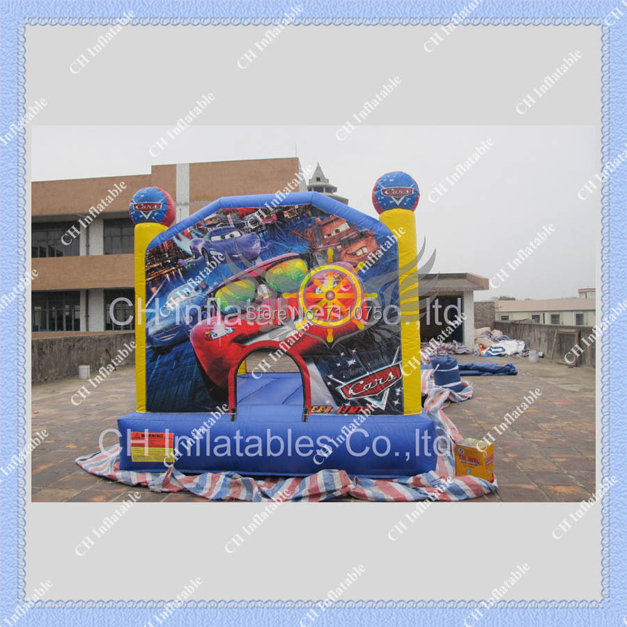 Inflatable bouncer/MINI inflatable 3m by 3m/Cars jumping bouncer/Commercial Quality Inflatable Bouncy Castle for You(China (Mainland))