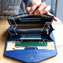 New 2016 Envelope Wallet Purse PU Leather Design Wallets Famous Brand Women Wallet For Travel /Phone Bags(China (Mainland))
