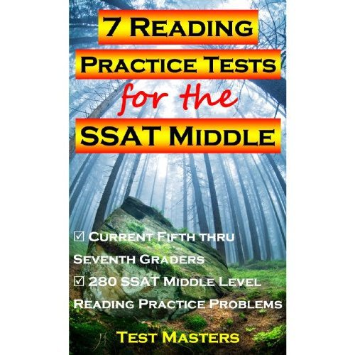 7 Reading Practice Tests for the SSAT Middle [Kindle Editio(China (Mainland))