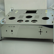 Buy Power Amplifier Chassis Stainless Steel perforated Casing DIY Chassis 370mm*280mm*80mm 1piece DIY 300B Amplifier for $70.78 in AliExpress store