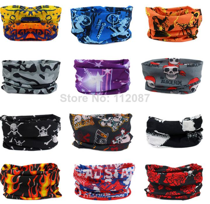 6PS 2014 Multi Use Scarf Snood Neck Head Bandanas Mask Snood Cap TJS3001(You can leave us a message about the colors you need)(China (Mainland))