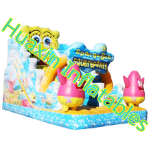 Factory direct inflatable slides,Inflatable castle, Clown Slide HXS-122(China (Mainland))