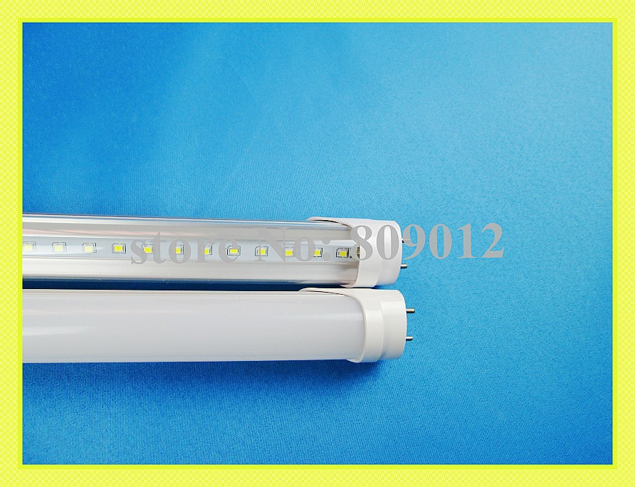 new design LED tube lamp SMD 2835 108led 25lm/led T8 1200mm 2300lm-2700lm 22W AC85-265V high bright frost / transparent(China (Mainland))